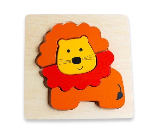The Kids Store-DISCOVEROO CHUNKY PUZZLE - LION-