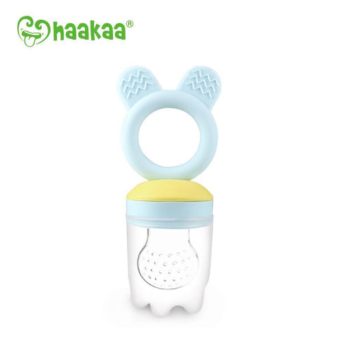 The Kids Store-HAAKAA FRESH FOOD FEEDER & TEETHER - BLUE-Blue-