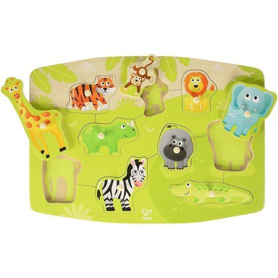 The Kids Store-HAPE JUNGLE PEG PUZZLE-