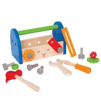 The Kids Store-HAPE MY FIRST FIX IT TOOLBOX-My First Fix it Toolbox-