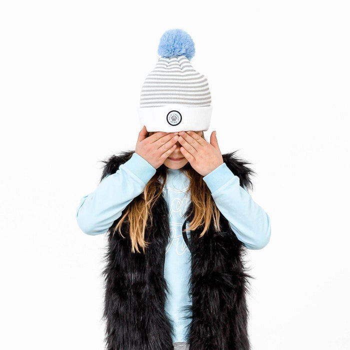 The Kids Store-HELLO STRANGER STRIPES BEANIE-OSFA-
