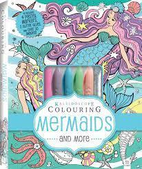 The Kids Store-HINKLER KALEIDESCOPE COLOURING KIT - MERMAIDS AND MORE-