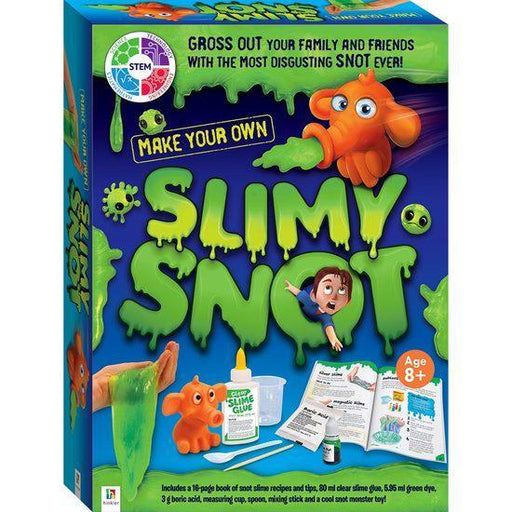 The Kids Store-HINKLER MAKE YOUR OWN SLIMY SNOT-