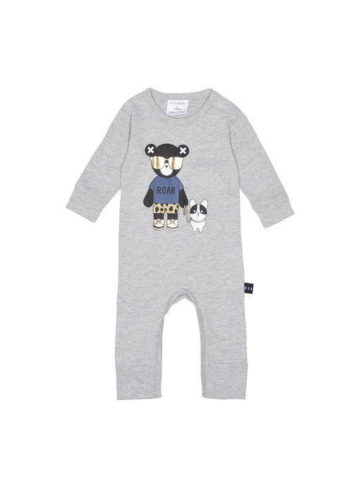 The Kids Store-HUXBABY BULLDOG ROMPER-