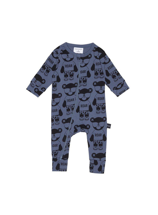 The Kids Store-HUXBABY ROAR ZIP ROMPER-