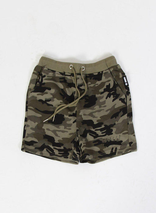 The Kids Store-INTRO HOLIDAY TRACK SHORT - CAMO-