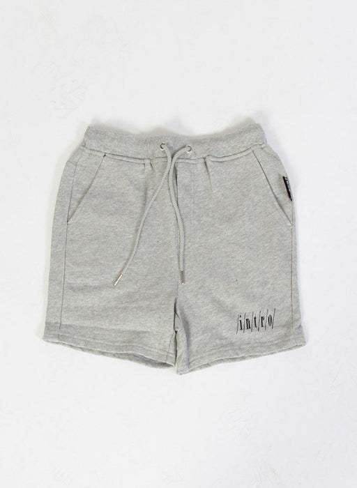 The Kids Store-INTRO HOLIDAY TRACK SHORT - GREY MARLE-