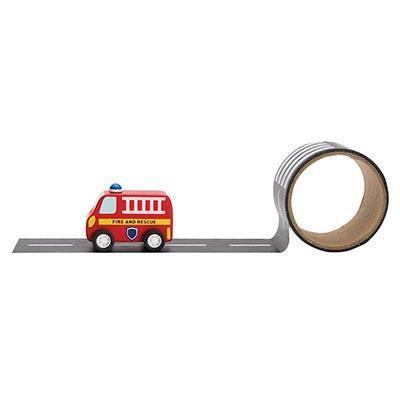 The Kids Store-IS GIFT EMERGENCY RESCUE - VEHICLE & REUSABLE ROAD-