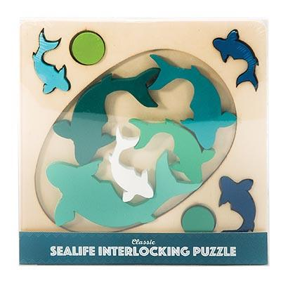 The Kids Store-IS GIFT INTERLOCKING PUZZLE - SEALIFE-