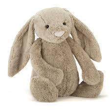 The Kids Store-JELLYCAT BASHFUL BUNNY MEDIUM - BEIGE-