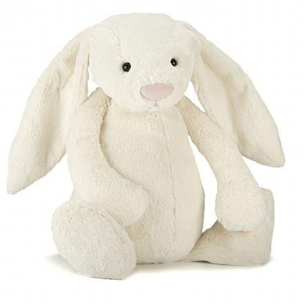 The Kids Store-JELLYCAT BASHFUL BUNNY MEDIUM - CREAM-