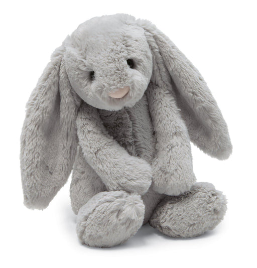 The Kids Store-JELLYCAT BASHFUL BUNNY MEDIUM - SILVER-