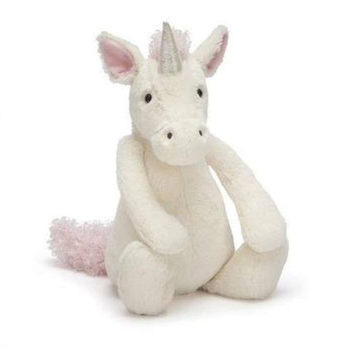 The Kids Store-JELLYCAT BASHFUL UNICORN MEDIUM-