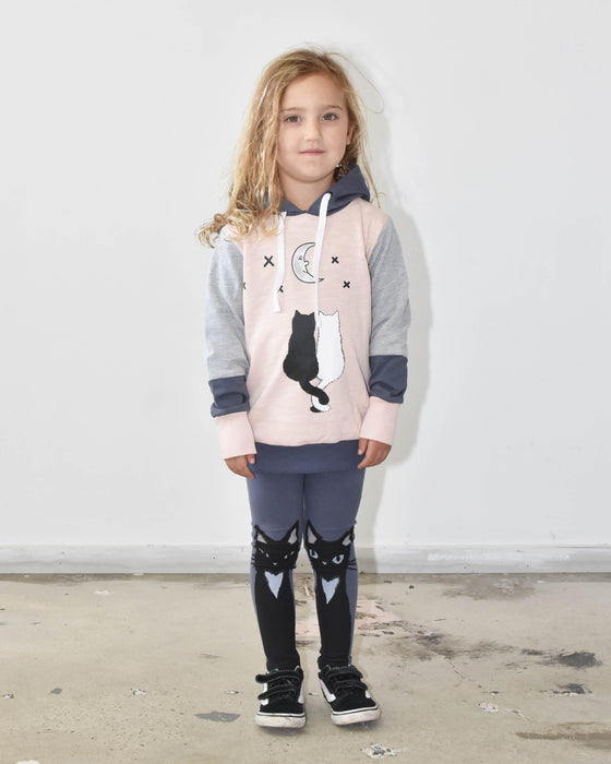 The Kids Store-KISSED KITTEN LEGGING-