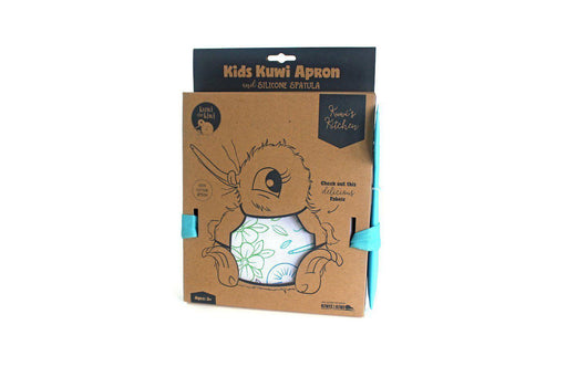 The Kids Store-KUWI'S APRON & SPATULA SET-