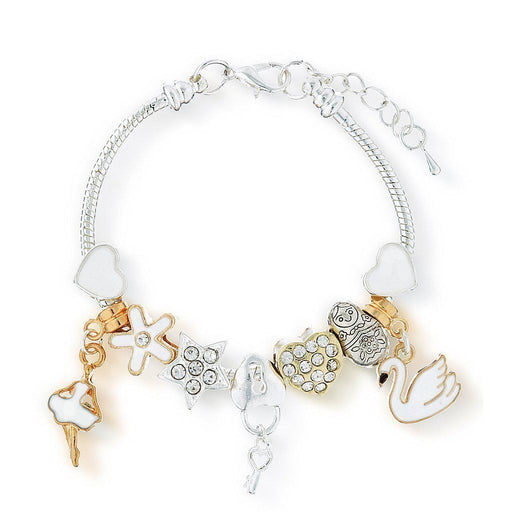The Kids Store-LAUREN HINKLEY BRACELET - SWAN LAKE CHARM-