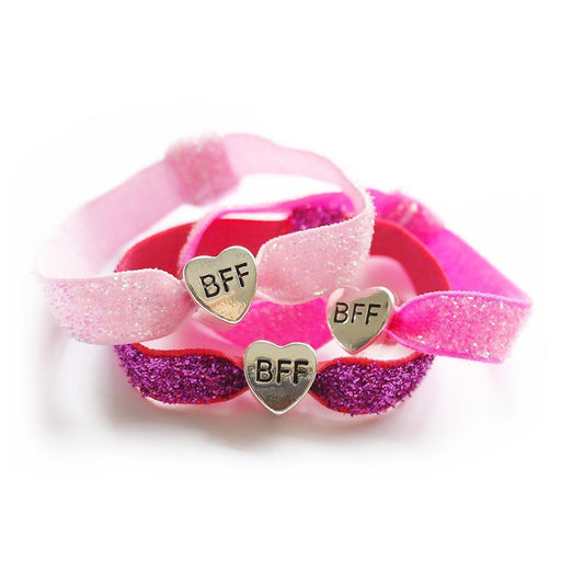 The Kids Store-LAUREN HINKLEY ELASTIC SET - PINK BFF-