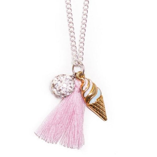 The Kids Store-LAUREN HINKLEY NECKLACE - DIAMANTE ICECREAM-
