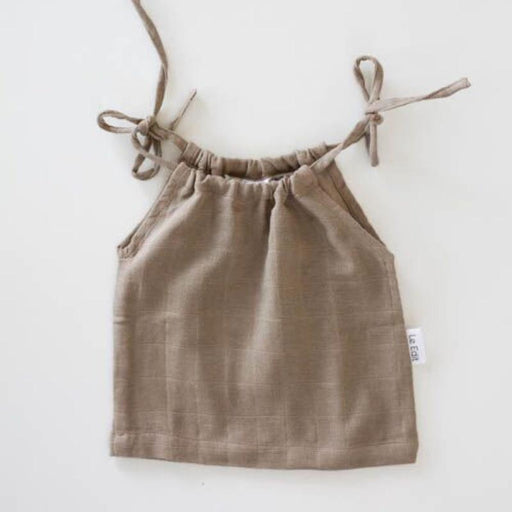 The Kids Store-LE EDIT MARNI SINGLET - STONE-