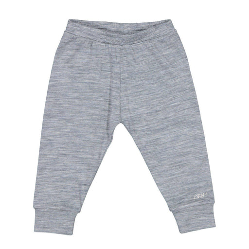 The Kids Store-LFOH MERINO BASICS LEGGINGS - GREY MARLE-