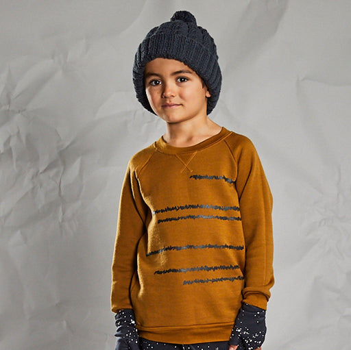 The Kids Store-LFOH MERINO THICK AS THIEVES BEANIE - INK-