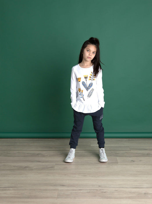 The Kids Store-LITTLEHORN WINTER GARDEN TEE-