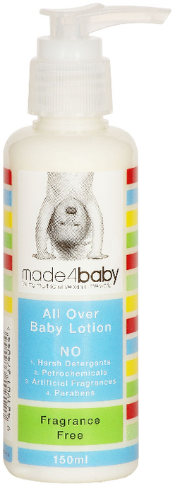 The Kids Store-MADE4BABY ALL OVER BABY LOTION - FRAGRANCE FREE-