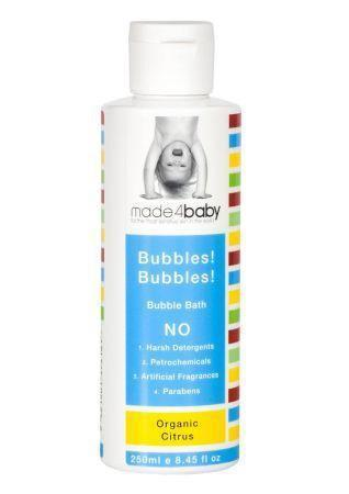 The Kids Store-MADE4BABY BUBBLES! BUBBLES! BUBBLE BATH ORGANIC CITRUS-