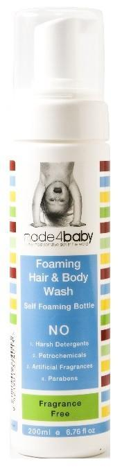 The Kids Store-MADE4BABY FOAMING HAIR AND BODY WASH - FRAGRANCE FREE-