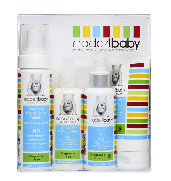 The Kids Store-MADE4BABY STARTER PACK - FRAGRANCE FREE-
