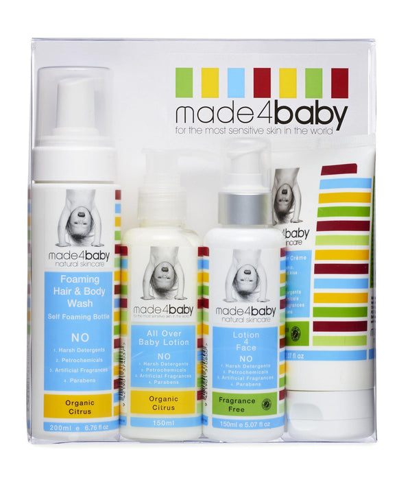 The Kids Store-MADE4BABY STARTER PACK - ORGANIC CITRUS-
