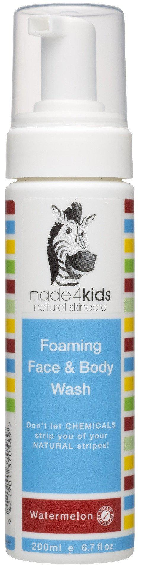 The Kids Store-MADE4KIDS FOAMING FACE AND BODY WASH - WATERMELON-