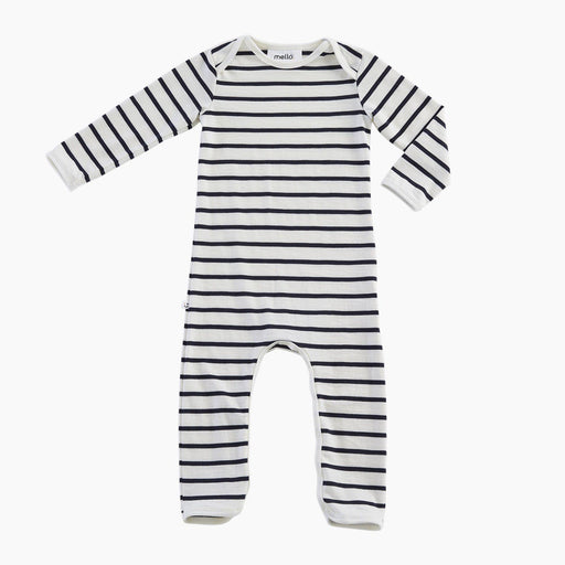 The Kids Store-MELLO MERINO ONESIE - CHALK BRETON-