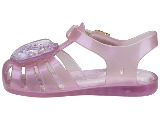 The Kids Store-MINI MELISSA ARANHA XII - GLITTER SHELL PINK-