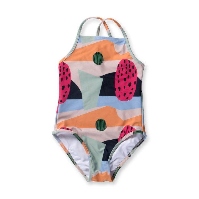 The Kids Store-MINTI FAVOURITE COLOURS SWIMSUIT-