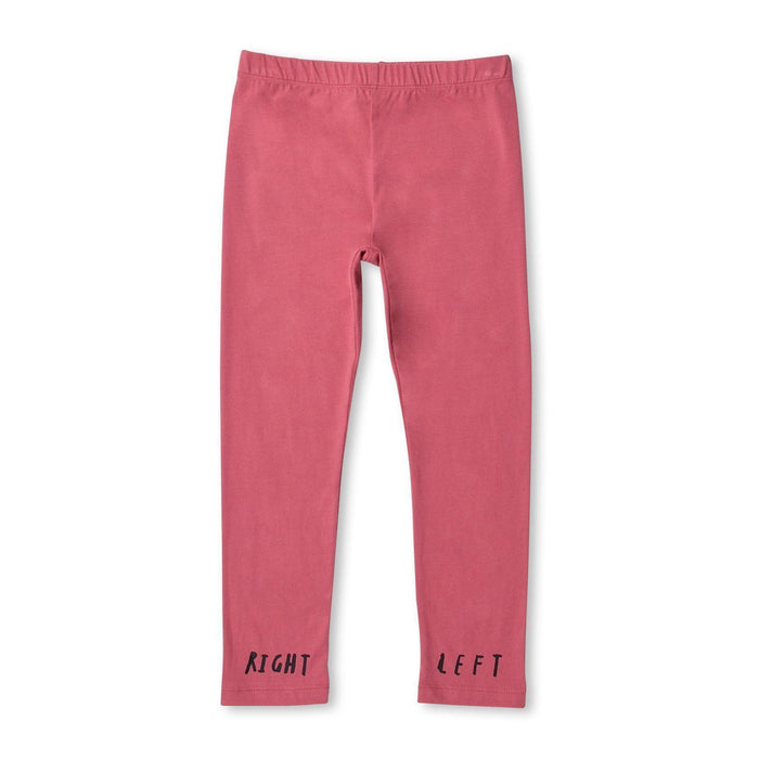 The Kids Store-MINTI LEFT RIGHT TIGHTS - ROSE-