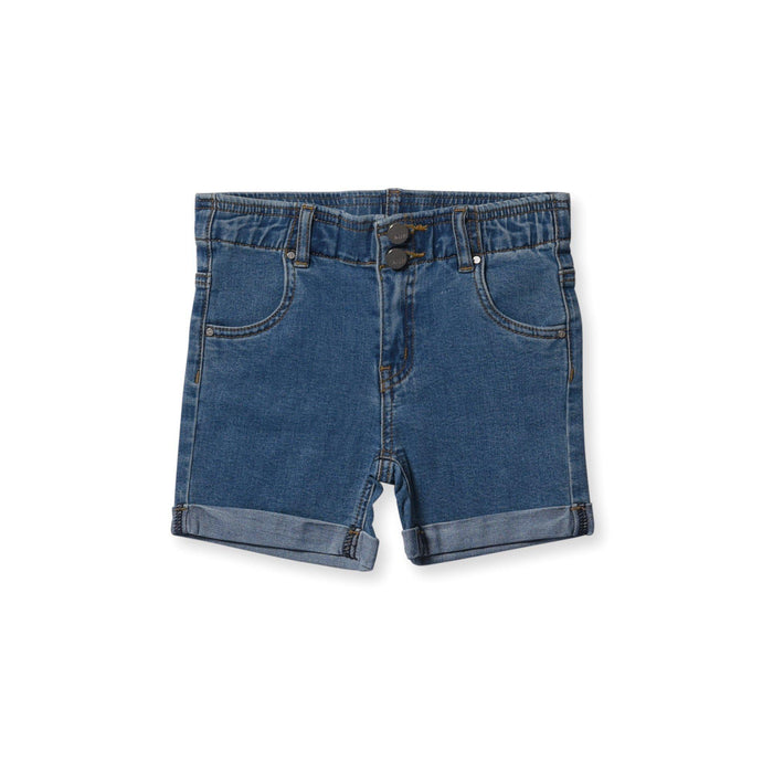 The Kids Store-MINTI STROLL DENIM SHORT-