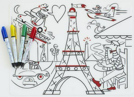 The Kids Store-MODERN TWIST MARK MAT - PARIS DAYDREAM-