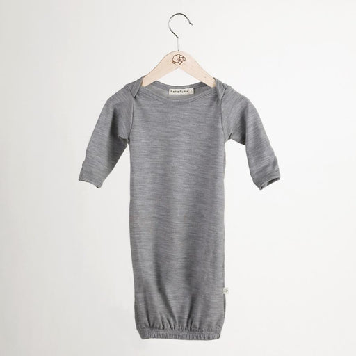 The Kids Store-MOKOPUNA MERINO SLEEP SUIT - MIST-