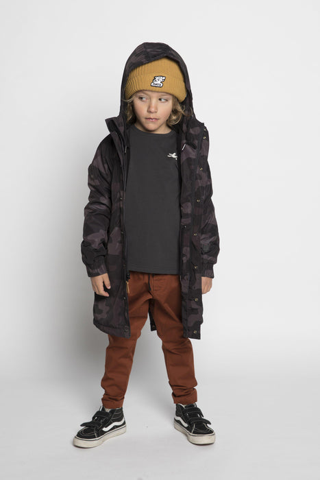 The Kids Store-MUNSTER HUNTER BLACK CAMO JACKET-