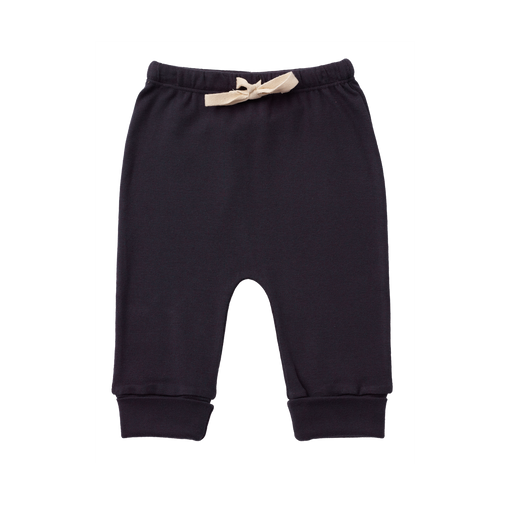The Kids Store-NATURE BABY DRAWSTRING PANTS - NAVY-