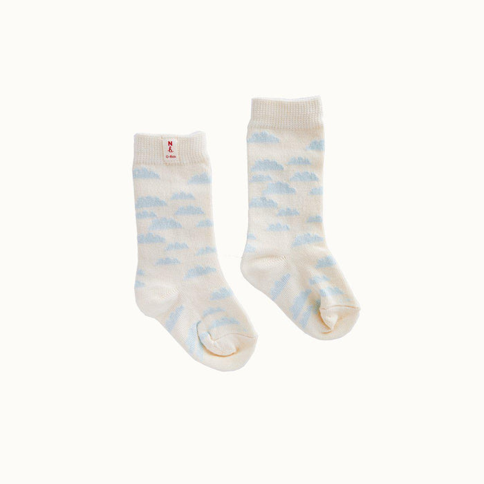 The Kids Store-NATURE BABY ORGANIC COTTON SOCKS - CLOUDS-