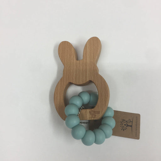 The Kids Store-NATURE BUBZ HOP TEETHER - SEAFOAM-