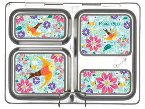 The Kids Store-PLANETBOX LAUNCH MAGNETS-Flora Fun-