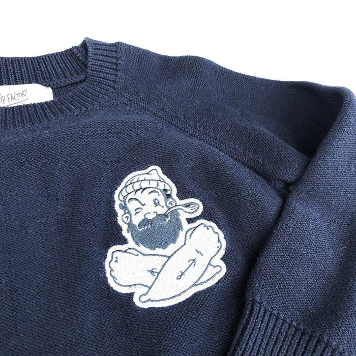 The Kids Store-POP FACTORY POP KNITS CREW-