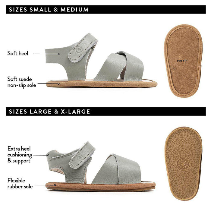 The Kids Store-PRETTY BRAVE VALENCIA SANDAL - GREY-