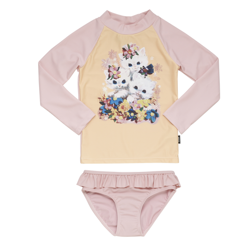 The Kids Store-ROCK YOUR BABY RASHIE SET - LITTLE KITTENS-