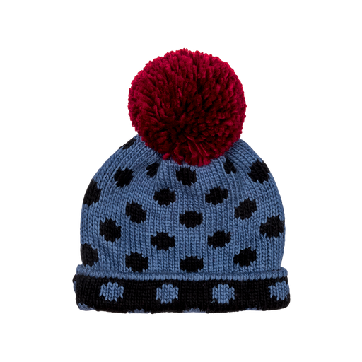 The Kids Store-ROCK YOUR KID BEANIE SPOT ON - BLUE-