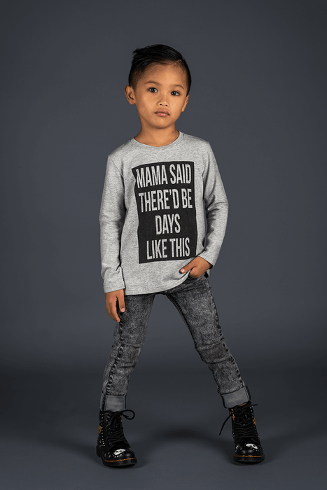 The Kids Store-ROCK YOUR KID MAMA SAID L/SLEEVE TEE-