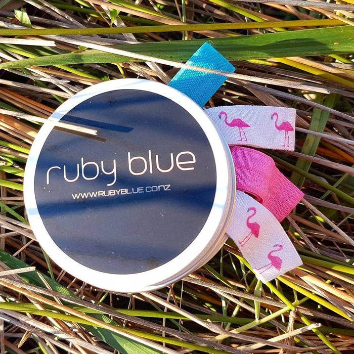 The Kids Store-RUBY BLUE HAIR CANDY TIN - FLAMINGO-